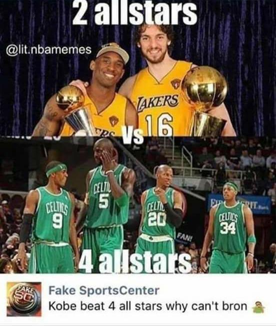 Kobe vs 4