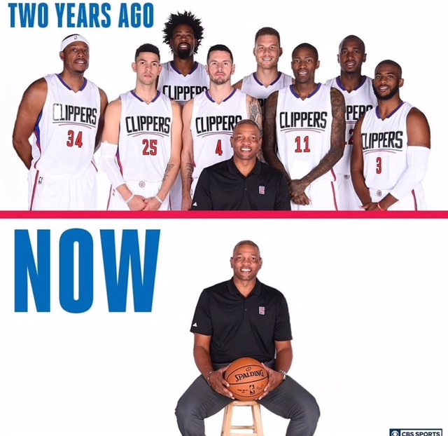 Clippers then and now