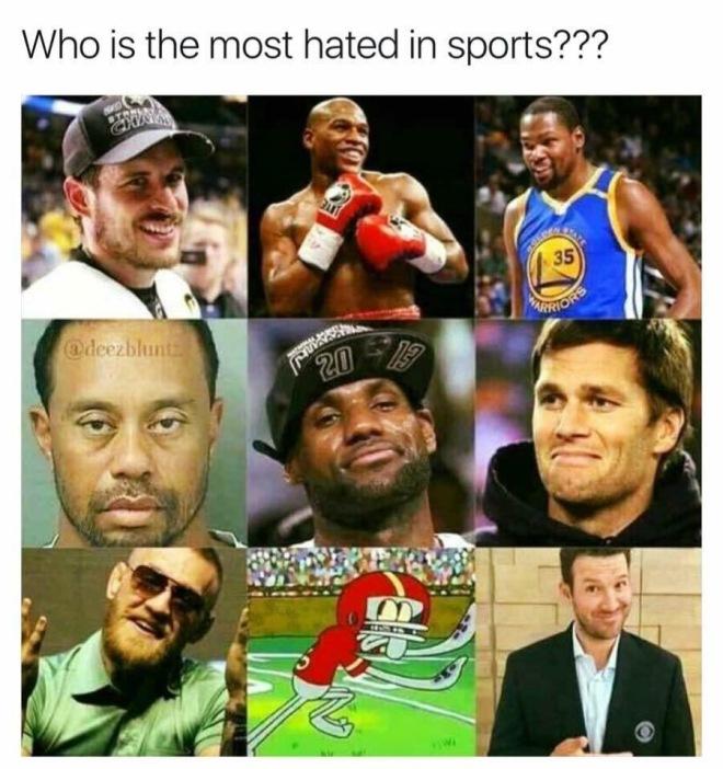 Hated AThletes