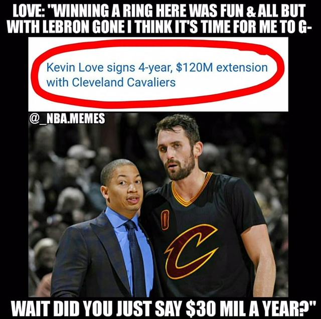 Love paid