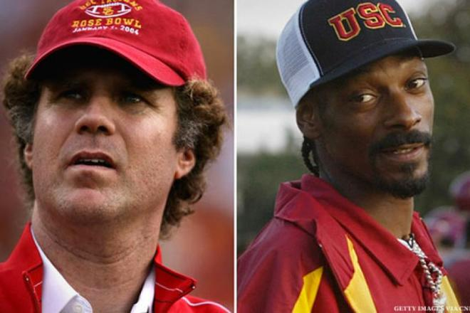 USC- Ferrell and Snoop Dogg