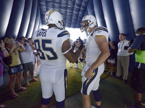 Chargers- Gates rivers