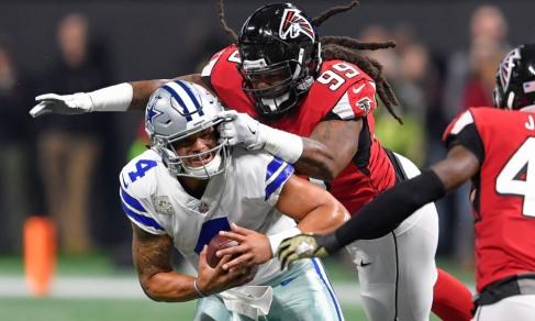 USP NFL: DALLAS COWBOYS AT ATLANTA FALCONS S FBN ATL DAL USA GA