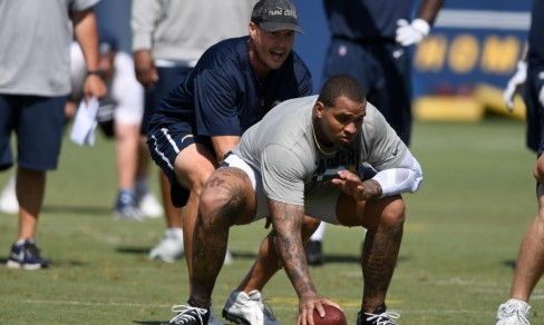NFL: Los Angeles Chargers Workout