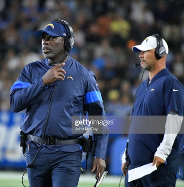 Anthony Lynn Gus Bradley Getty Images