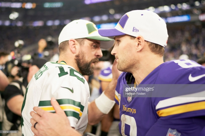 Getty - Cousins Rodgers