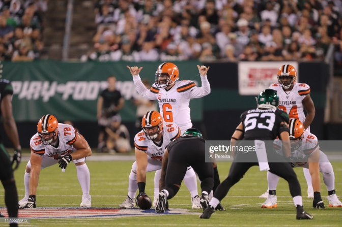 Baker Mayfield Getty Images