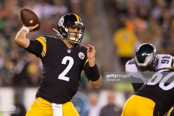 Mason Rudolph Getty Images