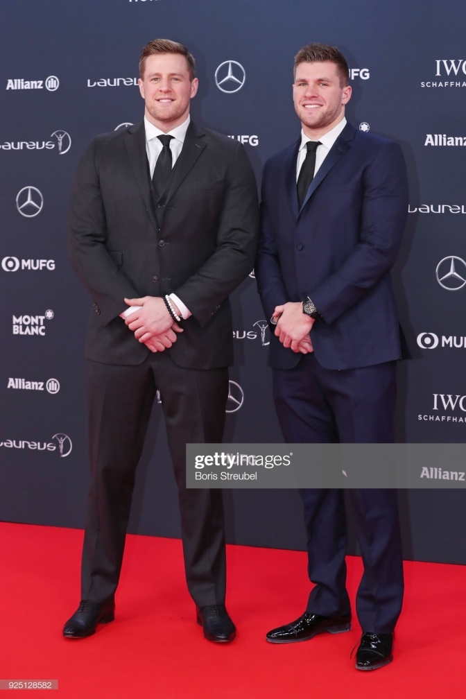 Watt Brothers Getty Images