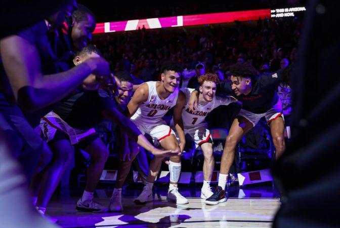 Arizona Wildcats men's basketball vs. San Jose St.