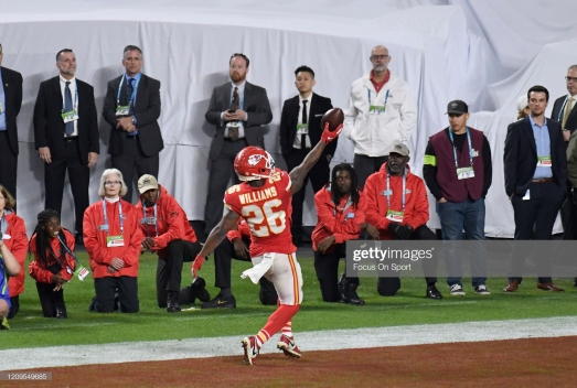 Damien Williams Getty Images