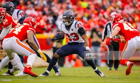 Carlos Hyde- Getty Images