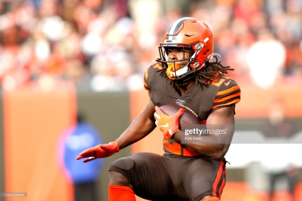 Kareem Hunt Getty Images