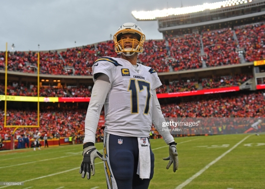 Philip Rivers Getty Images